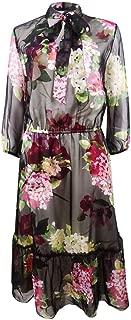 Womens Daleala Floral Sheer Midi Dress