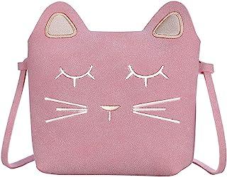 afb2b7877d0 Auranso Little Girls Shoulder Bag, Cute Cat Ear Cross Body Bag Purse  Adjustable Strap Massenger