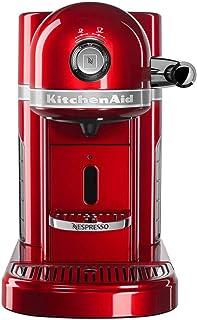 KitchenAid Nespresso Maker, One Size, Candy Apple (Renewed)