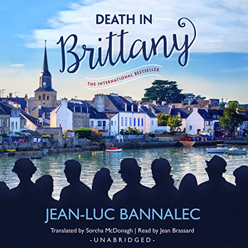 Death in Brittany audiobook cover art