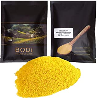 bodi : Bee Pollen Powder - 100% Pure Natural Chemical Free (4 8 16 32 oz) (4 oz)