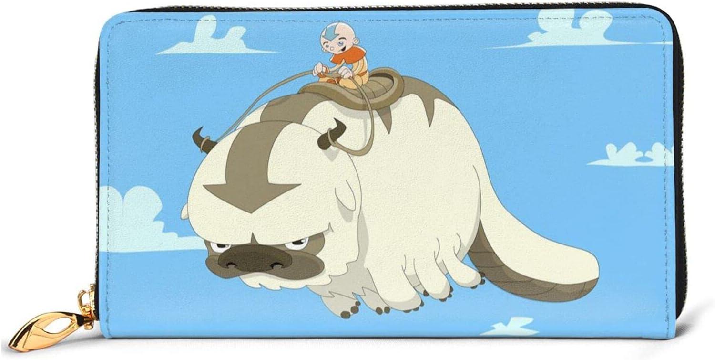 Appa Now free shipping Avatar Sacramento Mall The Last Airbender Wallet Le Women Cartoon Anime Men