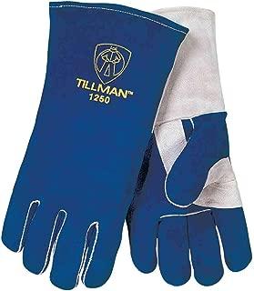 "Tillman 1250 14"" Premium Insulated Split Cowhide Welding Gloves, X-Lar"
