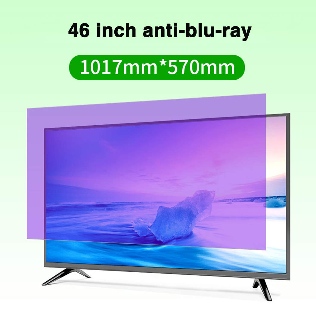 Protector De Pantalla De TV Anti-BLU-Ray De 46 Pulgadas/Protección contra La Radiación/Película Anti-Arañazos, Anti-UV, para Sharp, Sony, Samsung, Hisense, LG Etc: Amazon.es: Hogar