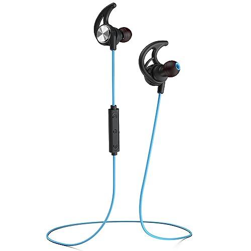 1c4a13185c6 Phaiser BHS-750 Bluetooth Headphones Runner Headset Sport Earphones with  Mic and Lifetime Sweatproof Guarantee
