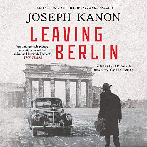 Leaving Berlin audiobook cover art