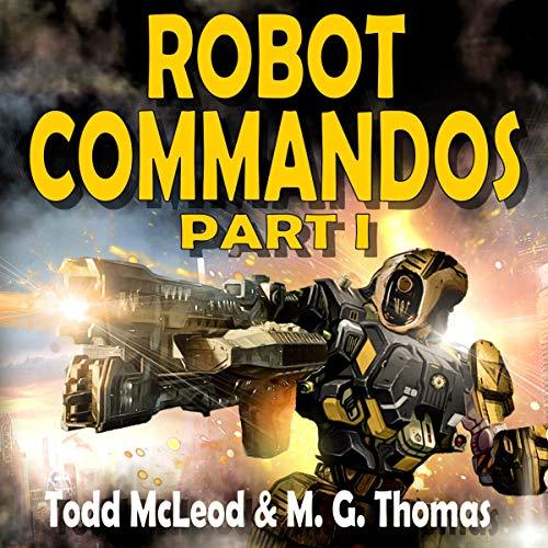 Robot Commandos audiobook cover art