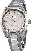 Omega Seamaster Aqua Terra Co-Axial Master Chronometer Opaline Silver Dial Automatic Ladies Watch 220.10.34.20.02.001