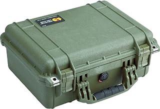 "Pelican 1450 OD Green Equipment Case with Foam 13"" x 16"" x 6.88"""