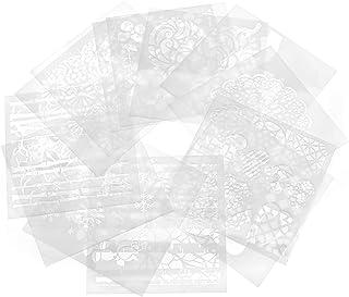 Incluye 10 plantillas metal Herramienta de grabado de bricolaje - Herramientas para tallar joyas vidrio SmartlifeEasy Etcher Bol/ígrafo port/átil de precisi/ón para grabado cuero y madera