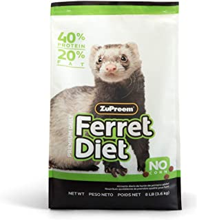 ZuPreem Premium Daily Ferret Diet Food | Nutrient Dense,...