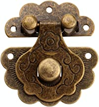 40 × 36mm (1,57 X 1.42in) Antiek Brons Box Buckle Lock, Sieraden Kast Houten Box Buckle Lock, Hardware-instrumenten, 1 Stuks