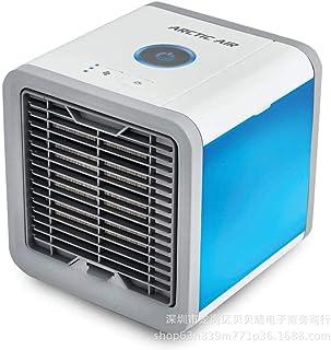 CAISHENY Arctic Air Cooler Aire Acondicionado Carga USB Mini pequeño Ventilador Aire Acondicionado portátil Fresco pequeño ciclón