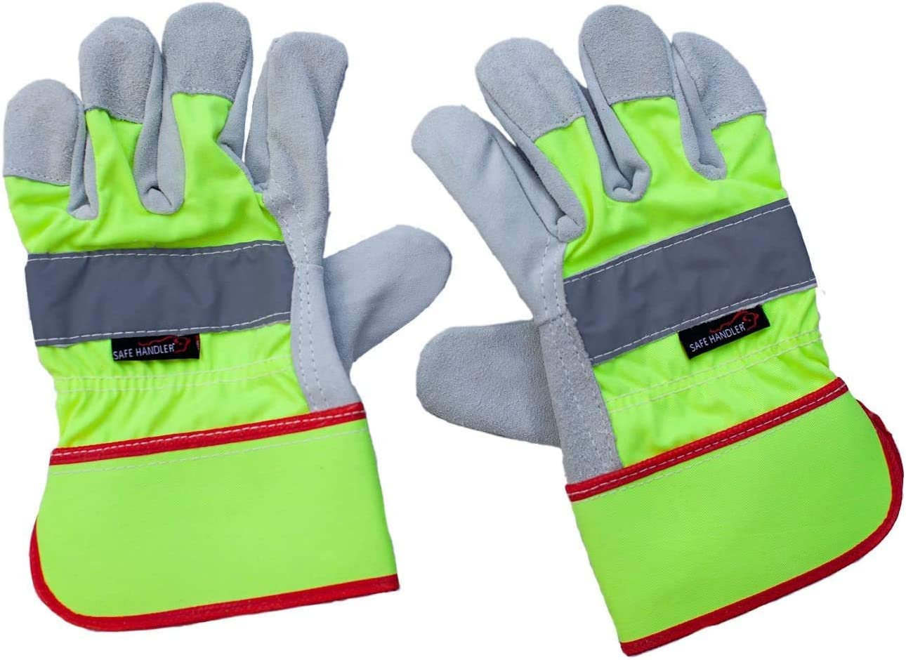 ! Super beauty product restock quality top! SAFE Sale price HANDLER Reflect Pro Rigger Reflec Visibility Gloves High