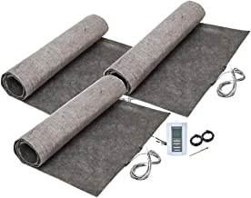 108 sq. ft. ThermoFloor Laminate Floor Heating Kit: (3) 3x12 ft. mat, (1) TH114 Manual Thermostat