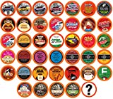 Two Rivers Coffee, Tea, Cocoa, Cider, Cappuccino Variety Sampler Pack Compatible with 2.0 Keurig K-Cup Brewers, 40 Count - Bit of Everything - Perfect Gift