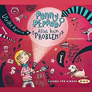 Alles kein Problem     Penny Pepper 1              Autor:                                                                                                                                 Ulrike Rylance                               Sprecher:                                                                                                                                 Carolin Kebekus                      Spieldauer: 1 Std. und 9 Min.     16 Bewertungen     Gesamt 4,5