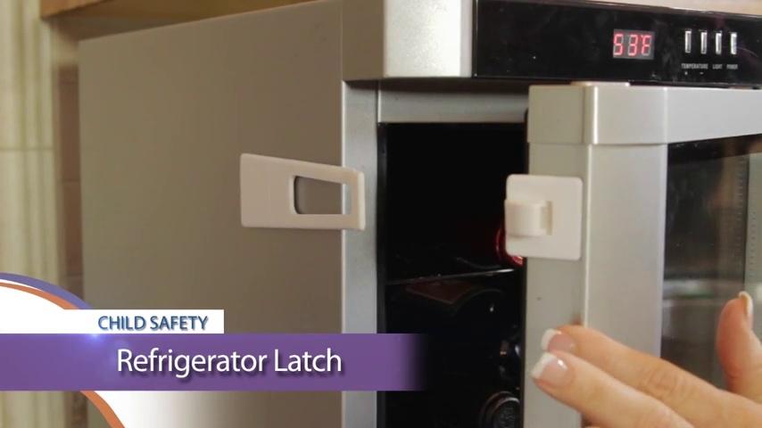 White L121 Dreambaby Refrigerator Freezer Appliance Child Safety Latch Lock