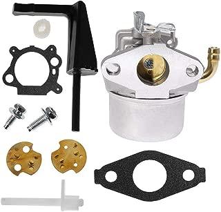 Anxingo 591299 Carburetor for Briggs & Stratton 791077 696981 698860 791991 698810 Craftsman Tiller Intek 190 6 HP 206 5.5hp Engine Models 120202 120212 110432-0179-E1