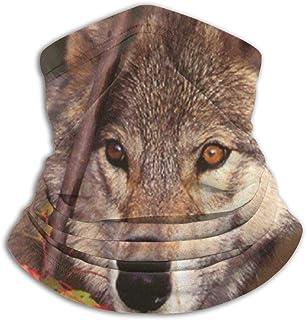 Maple Leaves Wolf Bequeme Fleece Neck Warmer Sturmhaube