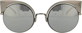 Luxury Fashion | Fendi Womens FF0177SKJ1T4DK Grey Sunglasses | Season Permanent