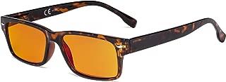 Eyekepper Blue Light Blocking Glasses Women Men with Orange Tinted Filter Lens for Sleeping - Computer Eyeglasses - Tortoise