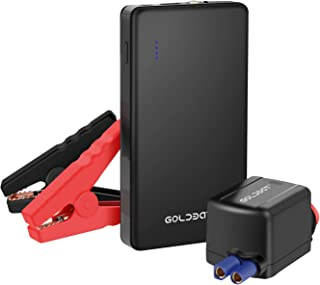 GOLDBAT 700A Peak 12V 8000mAh Car Jump Starter (Up to 4.0L Gas or 2.0L Diesel Engine) Portable Power Pack Auto Battery Booster with LED Light Gift Box Packaging (Black)
