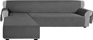 Granbest - Funda de sofá reversible para sofá en forma de
