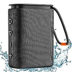 【Qualité Sonore HiFi】Le haut-parleur Bluetooth waterproof Hadisala H2 IPX7 offre un son immersif avec des basses riches, des médiums cristallins et des aigus merveilleux sans distorsion à n'importe quel volume. Et puis notre haut-parleur Bluetooth a ...