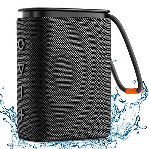 Altavoz Bluetooth Impermeable IPX7, Hadisala H2 Altavoces Portátil Inalámbrico Bluetooth 5.0 con Sonido Estéreo HD Rich Bass, Carga USB-C, 15H Tiempo de Juego, TWS Speaker para hogar, Playa, Viajes