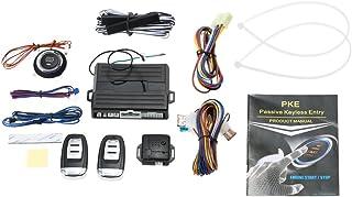 KKmoon PKEパッシブキーレス エントリーカーアラームシステム エンジンスタートボタンリモート 汎用タイプ