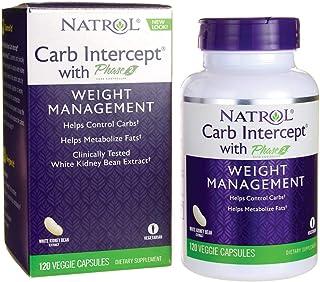 Natrol - CARB Intercept fase2 - 120Cápsulas contiene extracto de frijol blanco