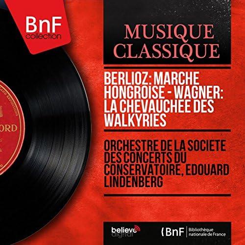 Orchestre de la Société des concerts du Conservatoire, Édouard Lindenberg