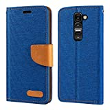 LG G2 Mini D618 D620 Case, Oxford Leather Wallet Case with