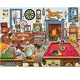 pepape Puzzles para Adultos Rompecabezas de 1000 Piezas -Snooker...