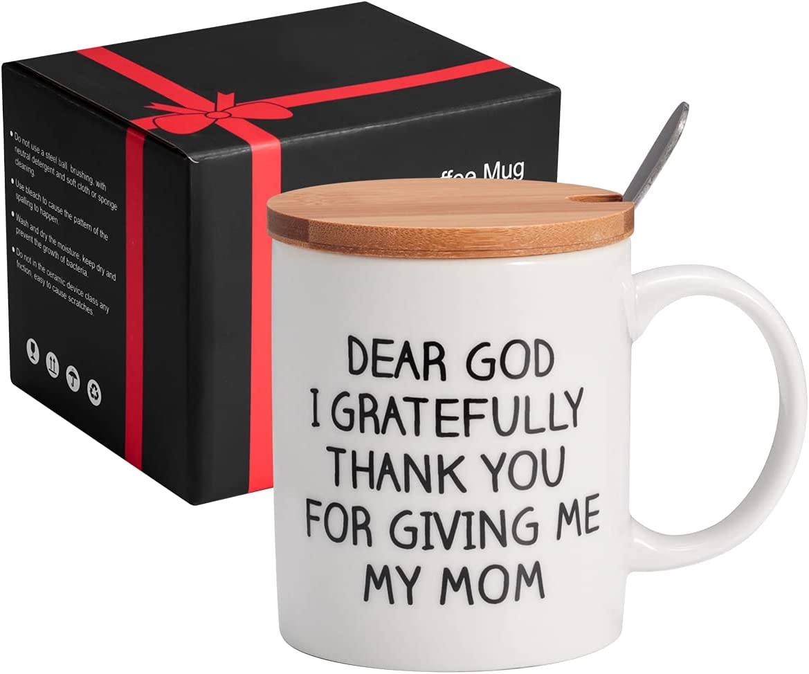 Mothers Day Gifts Cheap mail order shopping Mom Coffee Max 51% OFF Mug Novelty w 12oz Set Ceramic