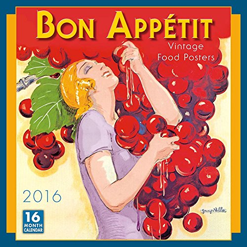 2016 Monthly Wall Calendar - Bon Appetit - by Sellers Publishing Inc