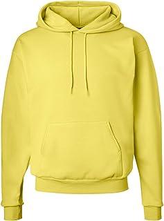 سويت شيرت بقلنسوة Hanes ComfortBlend EcoSmart، مقاس X-Large، أصفر