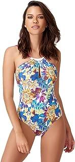 Bonesta Swimwear Mor Ebru Desen Mayo