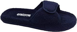 Bliss Ladies Slippers Val Navy Size Medium/ 7-8 Adhesive Tab
