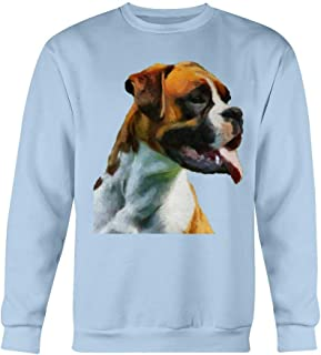 Boxer 'Cooper' Ultimate Cotton Fleece Sweatshirt - Light Blue - S