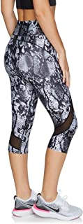 Rockwear Activewear Women's Mono Pop 3/4 Print Tight from Size 4-18 for 3/4 Length High Bottoms Leggings + Yoga Pants+ Yog...