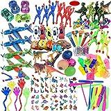 ASYBHYY Juguetes Cumpleaños Infantiles Juguete del Partido Favor 120 Pcs Juguetes para Rellenar piñatas y Bolsas de Regalo de Fiestas de cumpleaños Infantiles o para el Colegio
