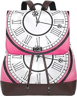 FANTAZIO Mochila Vintage Reloj Patrón Bolsa de Viaje