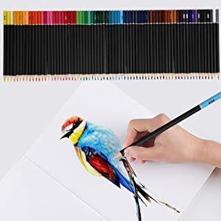 72 Colouring Pencils Set For Sketching Assorted Colours Drawing School Kids Art
