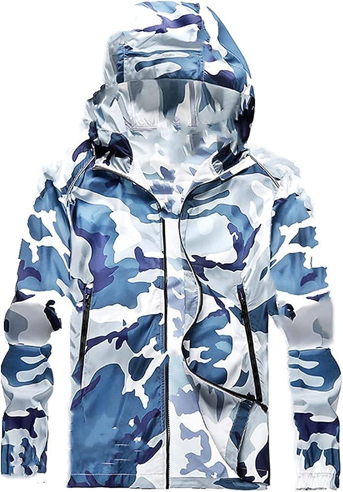 Summer thin men's lightweight large raincoat