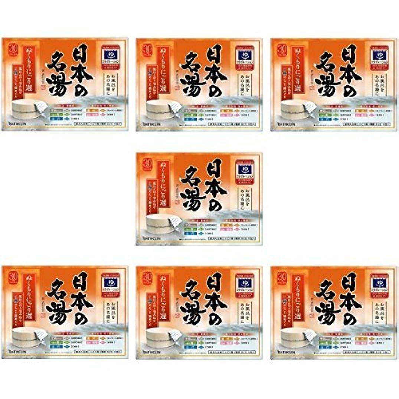 リークローブ姪【セット品】日本の名湯 ぬくもりにごり選 30g 10包入り 入浴剤 (医薬部外品) (7個)