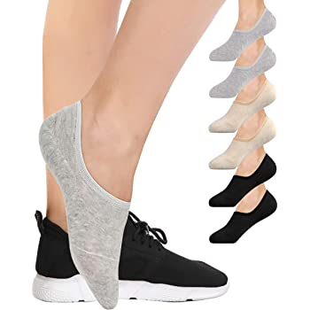 Womens No Show Trainer Socks Invisible