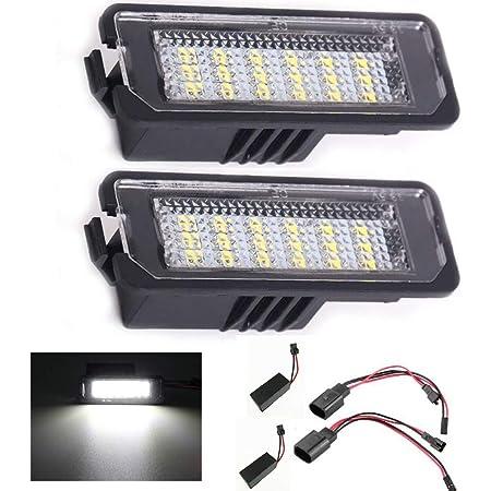 VW Arteon 17 LED Number Plate Lights Lamps Set Pair OEM