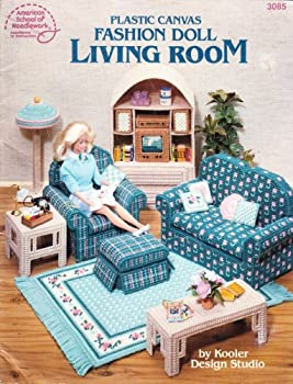 Plastic Canvas Fashion Doll Living Room 0881953148 Book Cover